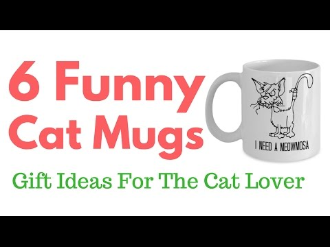 Funny Coffee Mugs – Gifts For Cat Lovers