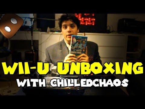 Nintendo Wii-U unboxing w/ ChilledChaos