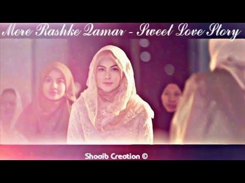 Mere Rashke Qamar - Nusrat Fateh Ali khan | Junaid Asghar | Sweet Love Story | Love Song