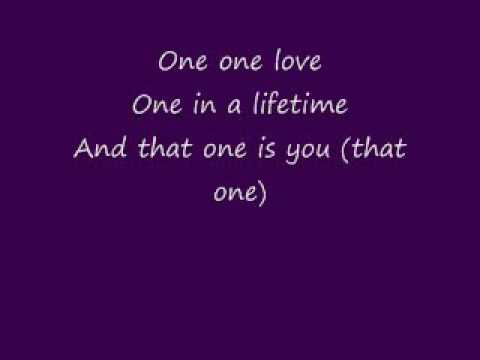 Monica- One In a Lifetime ( with lyrics )
