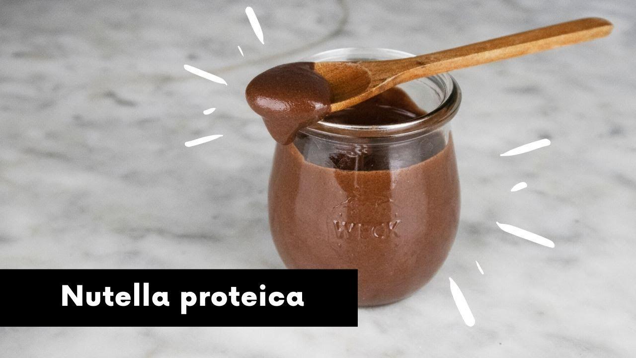 Ricetta Nutella Bimby Senza Zucchero.Nutella Proteica Con 3 Ingredienti Senza Zucchero Lattosio E Glutine Ricetta Vegan Facilissima Youtube