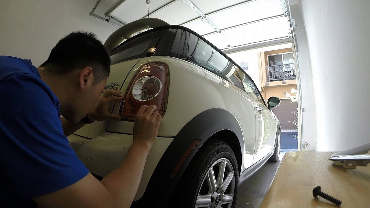 Mini Cooper Fog Light Wiring Reinvent Your Diagram Bmw Install S Tail And Audi A4 Youtube Rh Com Car Girl