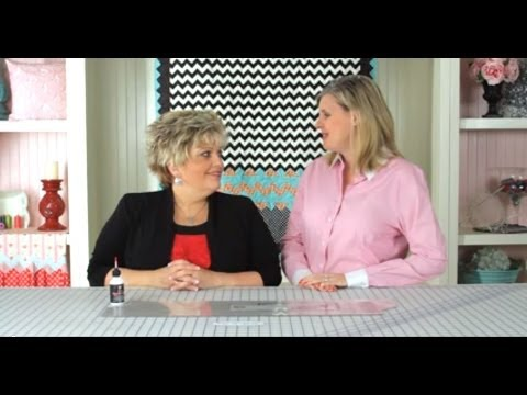 Quick Points Prairie Points Ruler Demonstration - Fat Quarter Shop