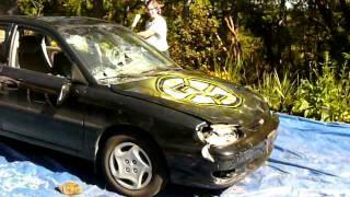 Nat Boston Bruin Car Bash #4 - Nat