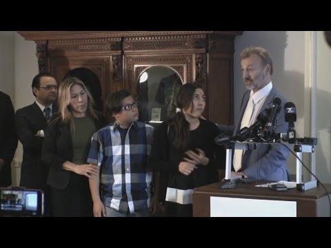 Con resignación, familia de inmigrante asesinado en EE.UU. recibe indemnización