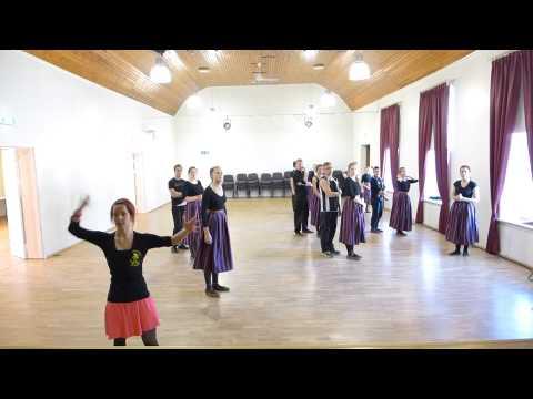 """II Kagu-Eesti tantsupidu - C - """"Lenda lindu"""" (täpsustava seminari video)"""