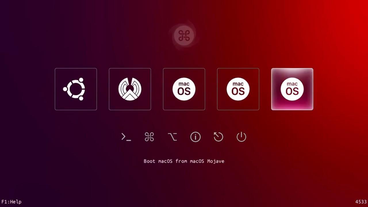 MultiBoot Windows, macOS, Ubuntu & PhoenixOS with Clover (UEFI)