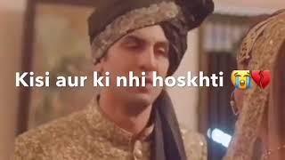 Ae dil hai mushkil (channa mereya) sad scene