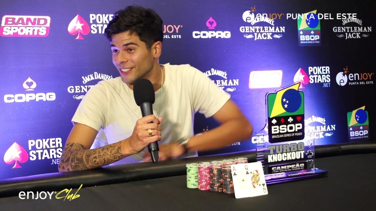 BSOP 2017 Enjoy Punta del Este - Pietro Conti Ganador del NLH Turbo $100 KO
