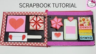 Scrapbook Tutorial/How to make Scrapbook/DIY Scrapbook Tutorial/Birthday Scrapbook Ideas/