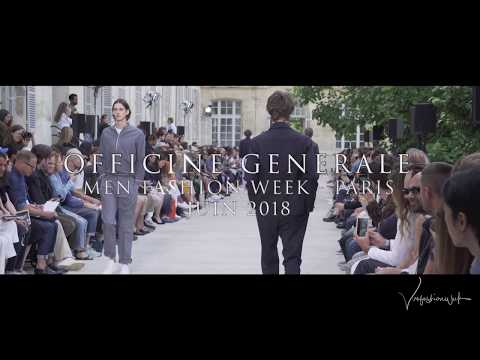 Officine générale Show - MEN FASHION WEEK PARIS (June 2018)