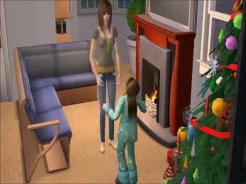 sims 2 feiert weihnachten youtube. Black Bedroom Furniture Sets. Home Design Ideas
