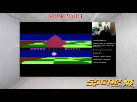 Spong Vault Episode 17 - Ballblazer by Lucasfilm Games