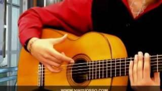 Técnicas de guitarra flamenca - Rasgueo de abanico