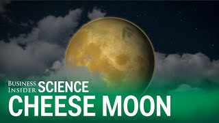 What if the moon were actually made of cheese?