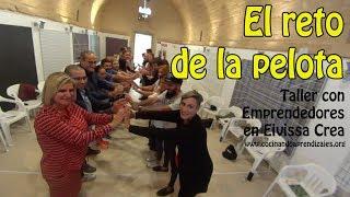 El reto de la pelota: creatividad y colaboración - Jornada Emprendedores Eivissa Crea (Ibiza)