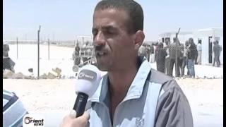 أورينت - الشباب في الزعتري يعودون للالتحاق بالثوار