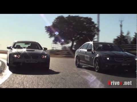 BMW M3 vs Mercedes C63 AMG - DRIVEX TV