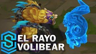 El Rayo Volibear (2020) Skin Spotlight - League of Legends