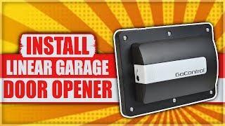 How to Install a Linear GoControl Z-Wave Garage Door Opener