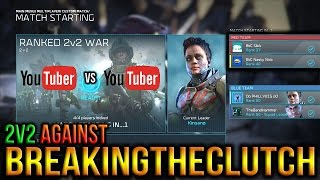 Halo Wars 2 - 2v2 Against BreakingTheClutch! (Youtuber vs Youtuber)
