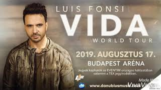 Luis Fonsi - VIDA World Tour Budapest