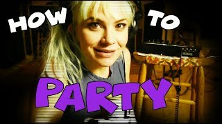 "The Dollyrots - ""I Know How to Party"" - Official Lyric Video"