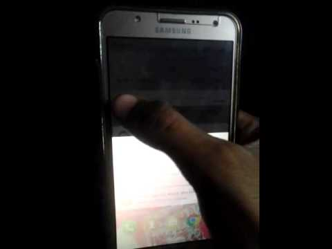 Screen problem flickring in samsung J7(Solved) [SOLUTION LINK IS IN  DISCRIPTION]