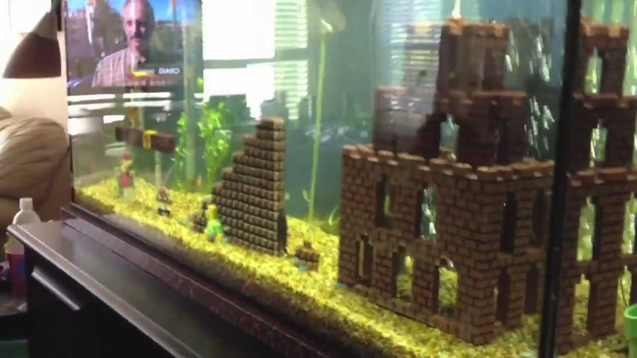 mario tank decorations fish Super