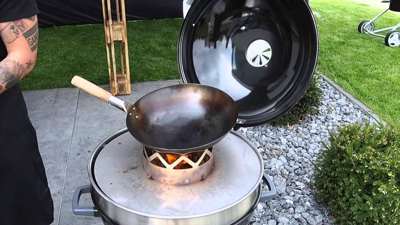 Wok Für Gasgrill : Moesta wokn bbq der wok für den grill youtube