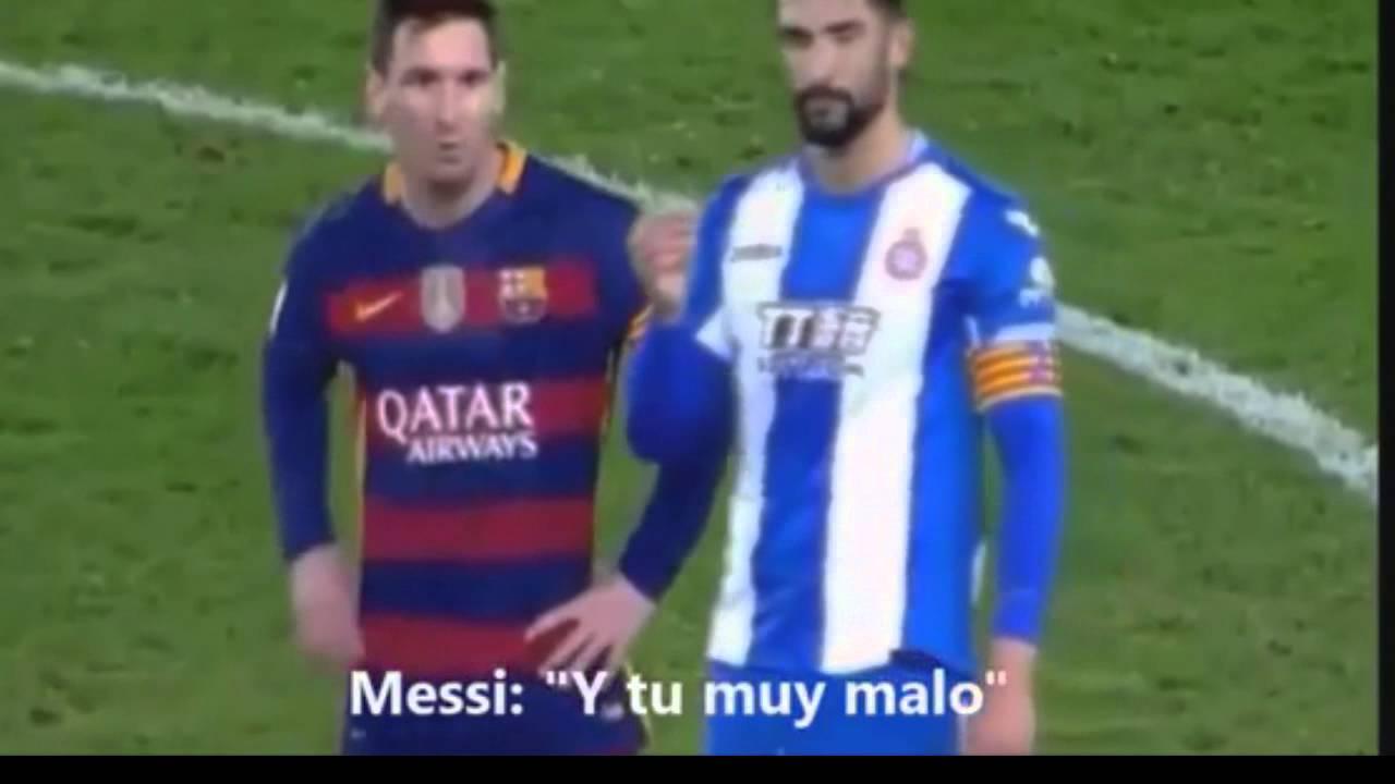 """Messi vs Álvaro González """"Turn Down for What"""" - YouTube"""