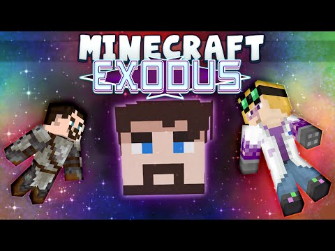 Minecraft - Exodus #1 - Space, The Final Face (Minecraft 1.8.4 Adventure Map)
