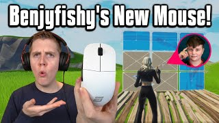 Trying Benjyfishy's *NEW* Mouse In Arena! - Fortnite Battle Royale