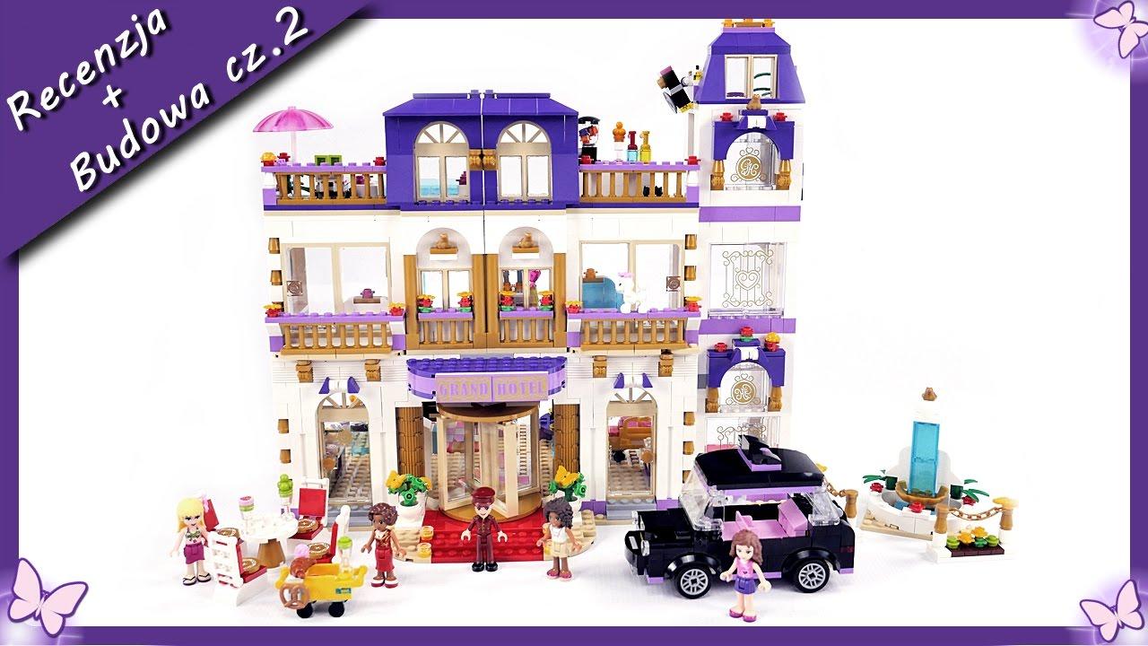 grand hotel w heartlake cz 2 budowanie klock w lego friends 41101 youtube. Black Bedroom Furniture Sets. Home Design Ideas