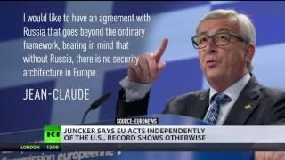 Obama calling Russia 'regional power' was big error – EC head Juncker