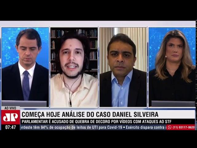 Fernando Rodolfo entrevista à Jovem Pan sobre o caso do deputado Daniel Silveira