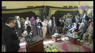 أخبار اليوم | وزير الاثار ومحافظ المنيا يفتتحان أعمال تطوير متحف آثارملوي بتكلفة 11 مليون جنيه