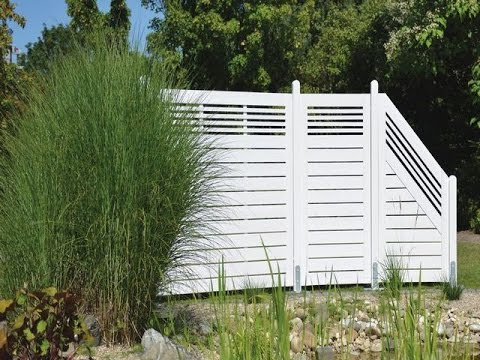 Add Height Extension To White Vinyl Fences Youtube
