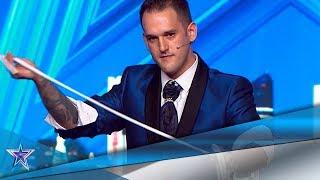¡INCREÍBLE! Este MAGO es capaz de TELETRANSPORTARSE | Audiciones 9 | Got Talent España 5 (2019)