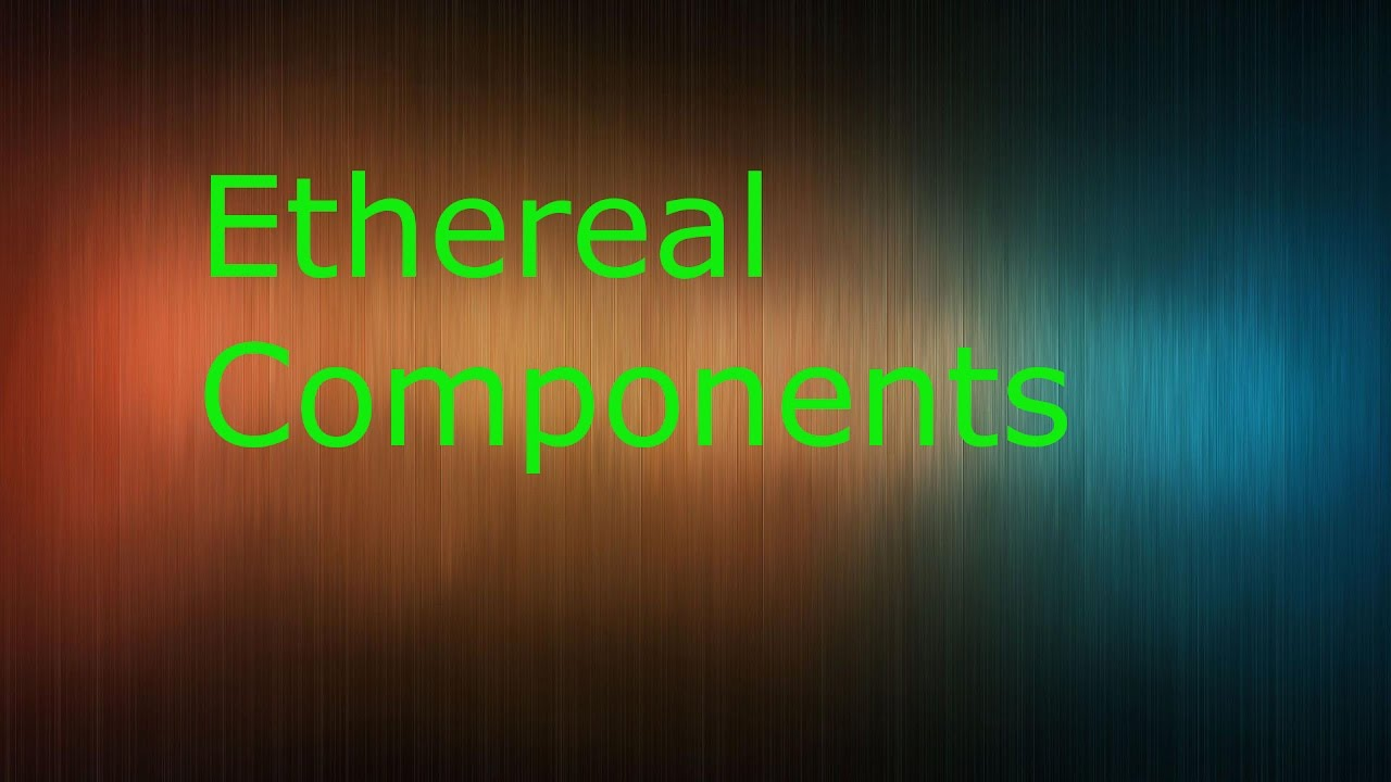 Runescape Ethereal Components Guide 2017 Youtube