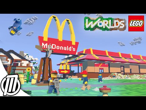 LEGO Worlds: FIRST PERSON Gameplay!! - Lego Minecraft Ep 4 (1440p)