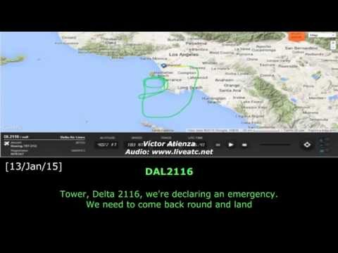 [REAL ATC] DELTA with YAW FAILURE at LOS ANGELES INTL