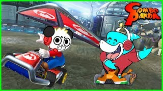 I BEAT BIG GIL! Mario Kart Battle Combo Panda Vs.  Big Gil Let's Play