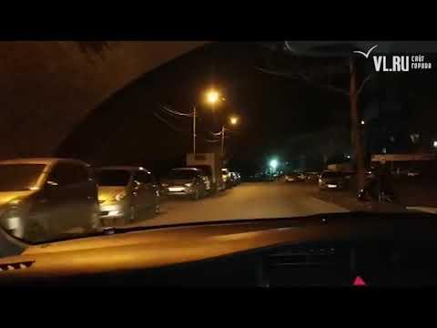 VL.ru - Во Владивостоке пьяная компания попала в ДТП, уходя от ГИБДД