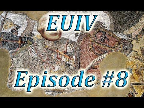 Let's Play EUIV Indo-Greece Episode 8 (Annexing Indo-Parthia)