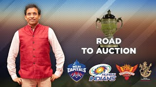 Road to IPL 2021 Auction ft Harsha Bhogle : MI, RCB, SRH, DC