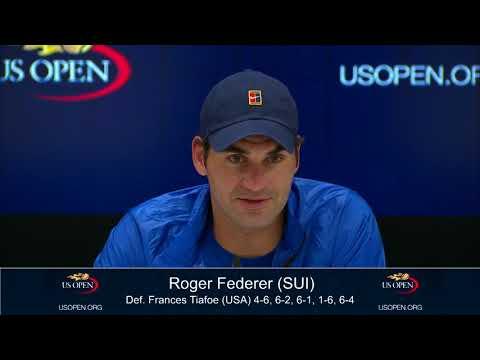 2017 US Open: Roger Federer R1 press conference