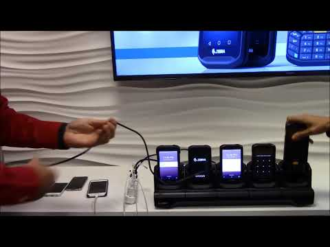Setting up for Charging 5 Zebra TC20's vs. 5 Consumer Devices