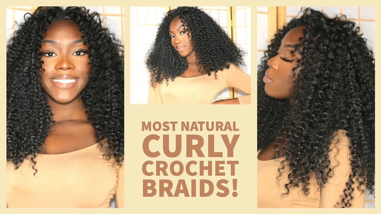 How To Get The Most Natural Looking Curly Crochet Braids