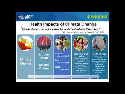 Climate Change, Vulnerability & Health Equity In Canada: Understanding Linkages To Inform Adaptation